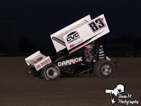 Up and Down Weekend in Hanford, CA for Tanner Carrick