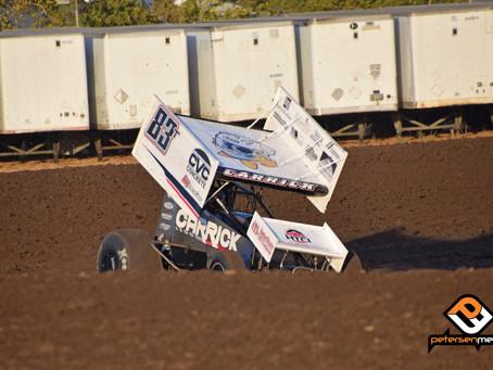 Carrick Second at Stockton Dirt Track