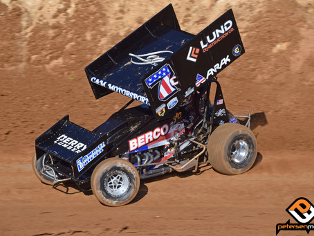 Justyn Cox and C&M Motorsports 7th at Placerville Speedway