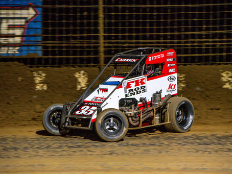 Fourth Place Run Highlights Tanner Carrick's Weekend with USAC