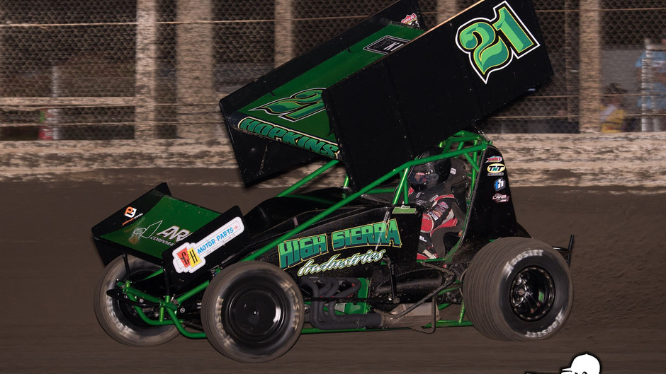 Shane Hopkins Charges to 10th at Antioch Speedway