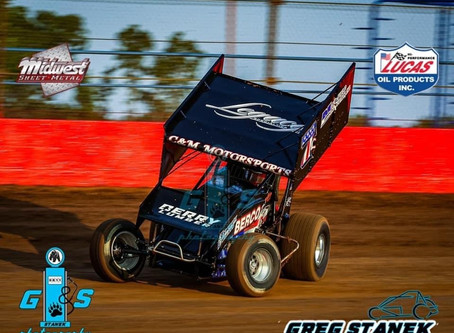 Justyn Cox and C&M Motorsports Battle ASCS National Tour in Wheatland, MO