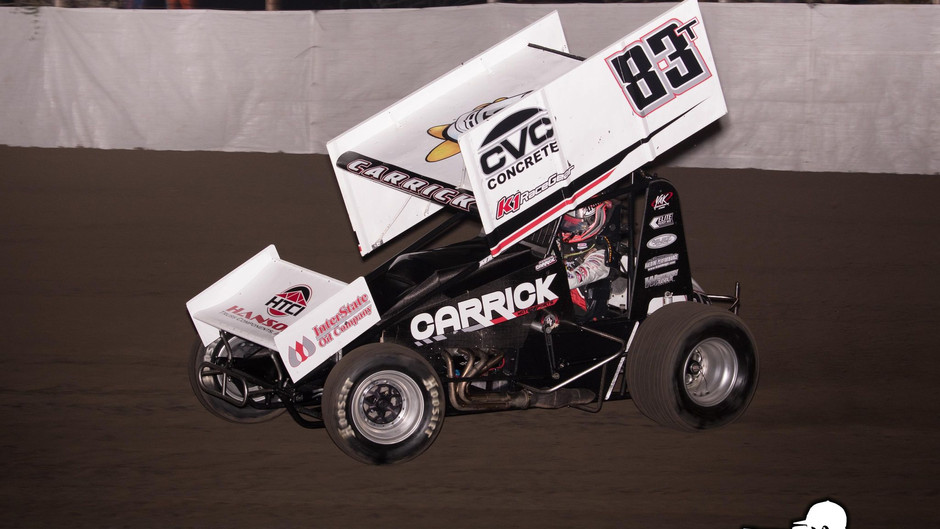 Tanner Carrick 7th In Sprint Car at Merced Speedway; Set for Copper Classic This Weekend