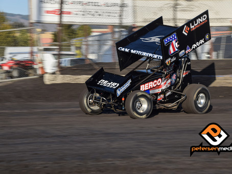 Cox 7th at Petaluma Speedway; Trophy Cup on Tap