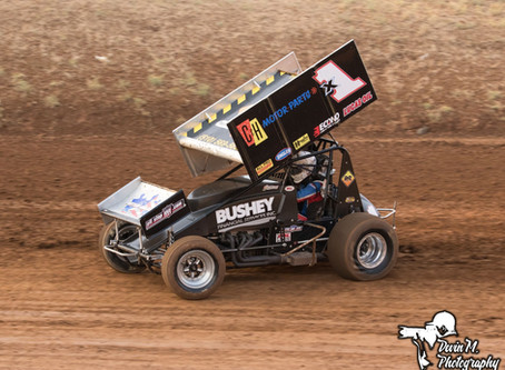 Andy Forsberg Hard Charges to Fourth Place Finish on Saturday Night