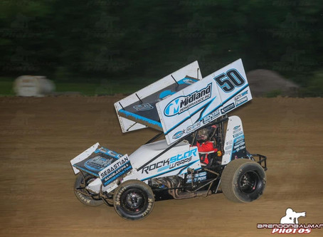 Nienhiser Second with Invaders at Dubuque Fairgrounds Speedway