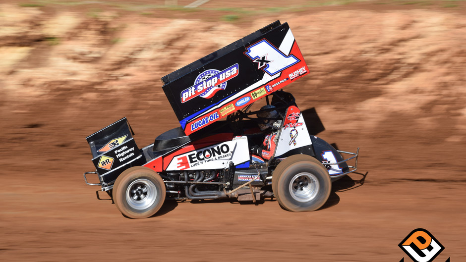 Forsberg Recovers for Sixth Place Finish at Placerville Speedway