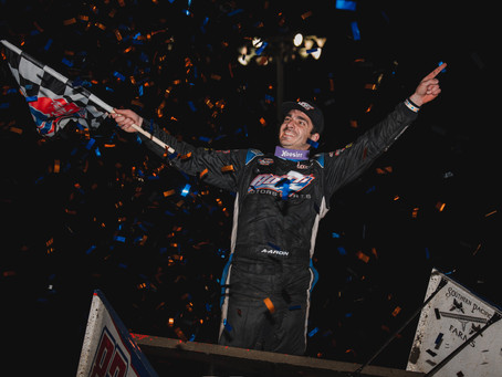 Aaron Reutzel Records First World of Outlaws Feature Event Win of Season