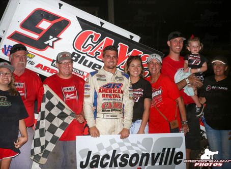 Nienhiser Cashes in at Jacksonville Speedway
