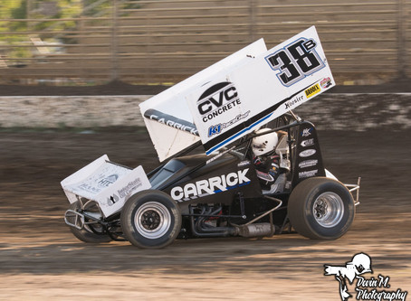 Late Incident Relegates Blake Carrick to 13th Place Finish at Ocean Speedway