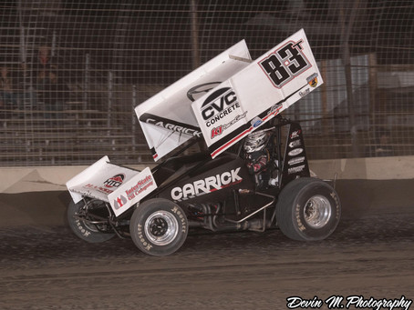 Late Race Miscue Knocks Tanner Carrick Out of Cotton Classic