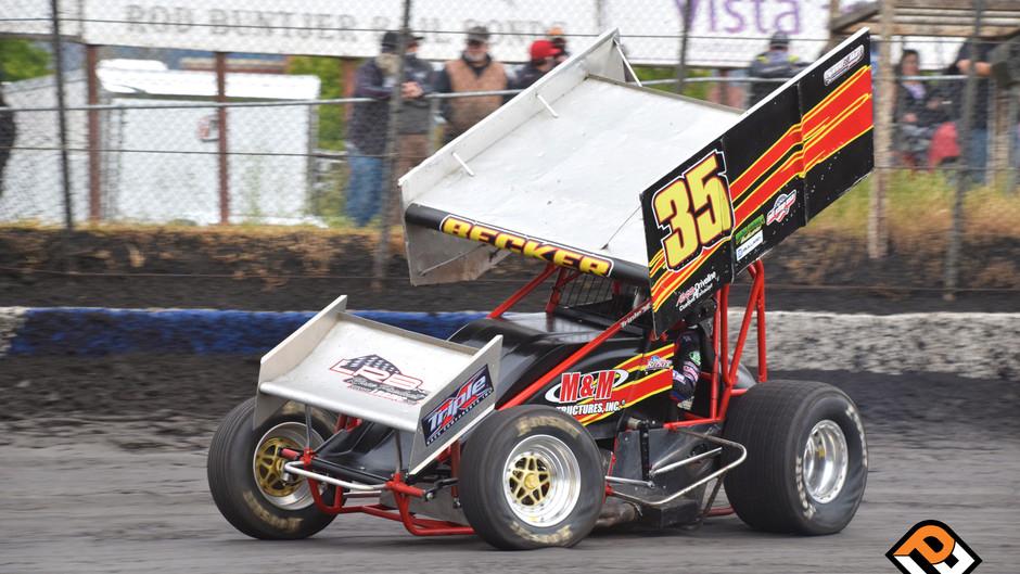 Bad Luck Bug Bites Sean Becker at Ocean Speedway and Petaluma Speedway