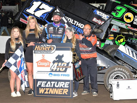 Red Hot Austin McCarl Ready to Resume Schedule Out West