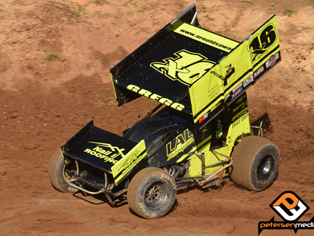 Andy Gregg Kicks 2020 Off at Placerville Speedway
