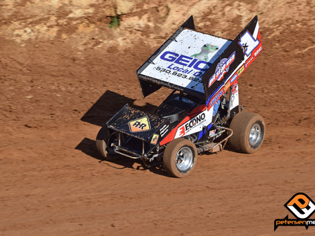 Andy Forsberg Fourth at Placerville Speedway with F&F Racing