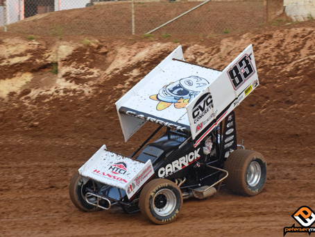 Tanner Carrick Picks Up 6th Place Finish During Second Morrie Williams Tribute Feature Event