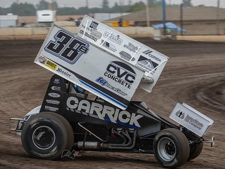 Blake Carrick Nets Another Marysville Raceway Top-5 at Spooktacular