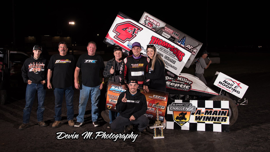 Sanders Nets 10th Win Overall in 2021 as He Scores Sixth Win with Miller Motorsports