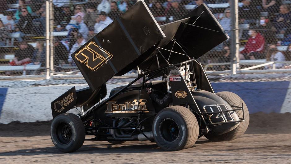 Austin McCarl Pockets Pair of Top-10's with Tarlton Motorsports