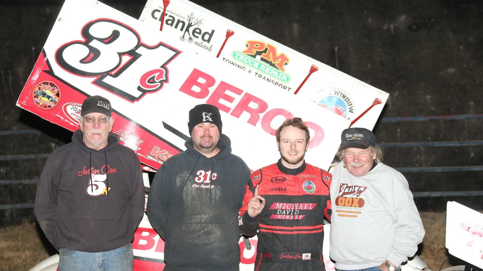 Cox Caps 2020 With Antioch Speedway Victory