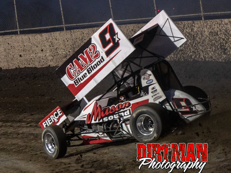Nienhiser Spends Weekend with the Outlaws
