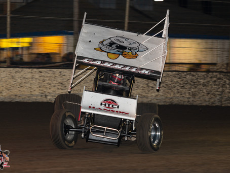 Tanner Carrick Makes Late Move to Net Second Place Finish at Marysville Raceway