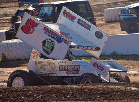 The Shark 7th at Placerville Speedway on July 4th