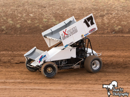 Kalib Henry Overcomes Adversity at Placerville Speedway to Tally 12th Place Finish