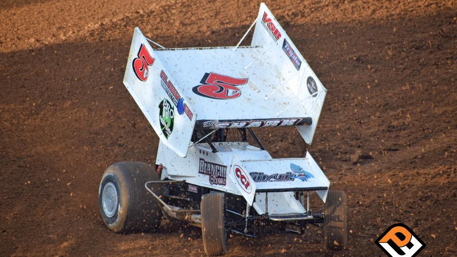 Sean Becker Seventh at Silver Dollar Speedway