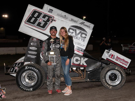 Carrick Captures Second Feature Event Win of Season with Friday Triumph in Chico, CA