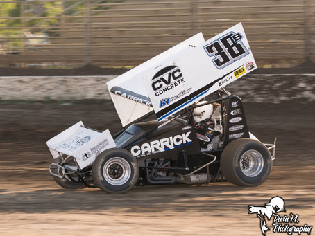 Blake Carrick Pockets Pair of Top-5's Over the Weekend