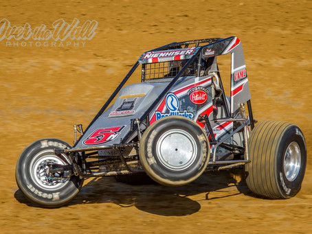 Nienhiser Seventh With USAC at Lawrenceburg Speedway