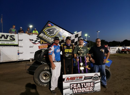 Terry McCarl Picks Up First Win of 2020 To Cap Off Big Week of Racing