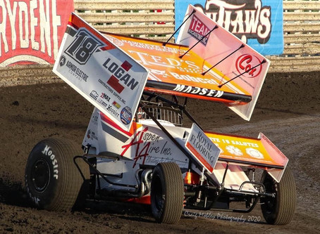 Ian Madsen Takes Home Two World of Outlaws Top-10's