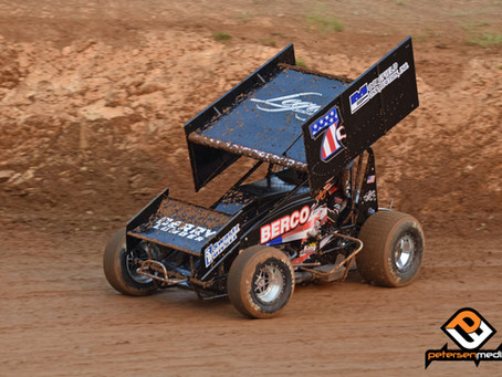 Justyn Cox Charges from 16th to Seventh at Placerville Speedway