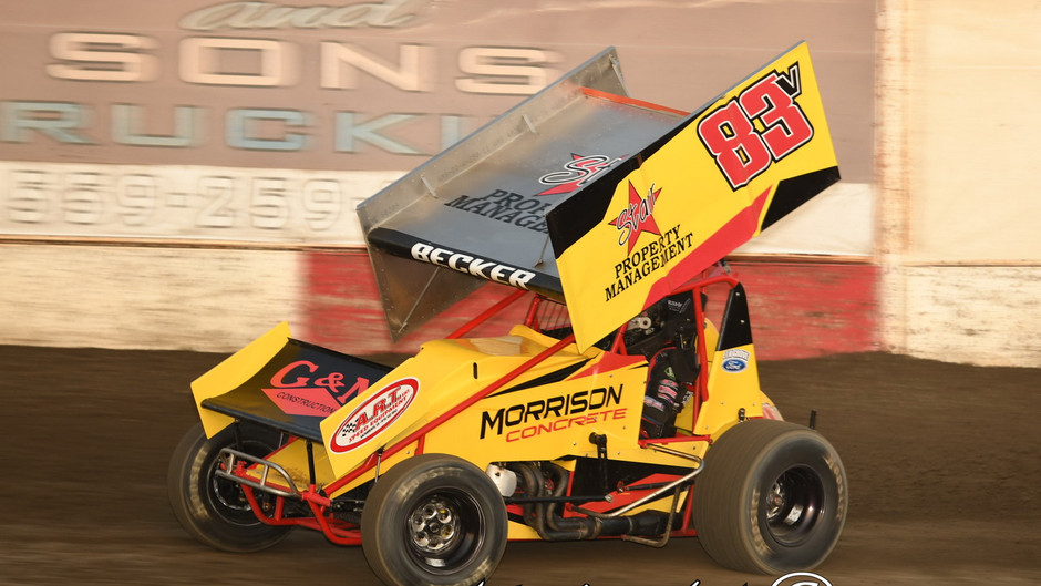 Sean Becker Rallies for 7th Place Finish at Forni