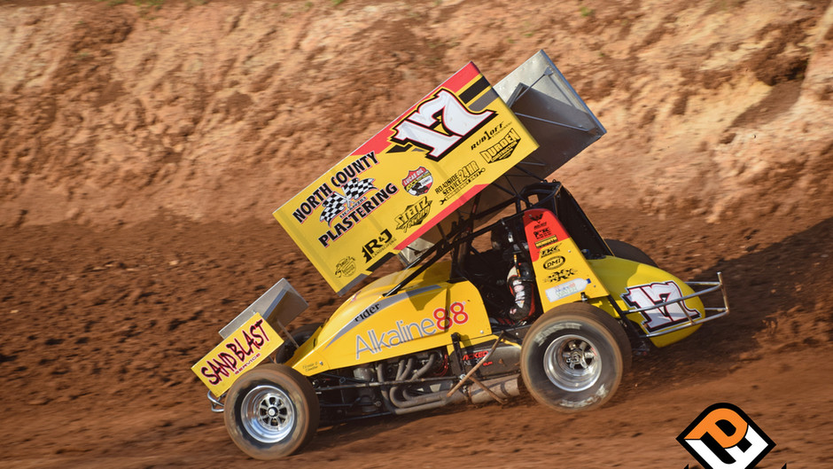Justin Sanders 2nd at Antioch Speedway