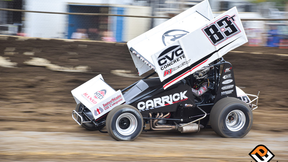 Carrick 12th at Johnny Key Classic with Sprint Car Challenge Tour