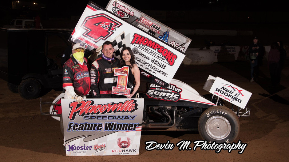 Late Move Nets Sanders and Dale Miller Motorsports 4th Win of Season