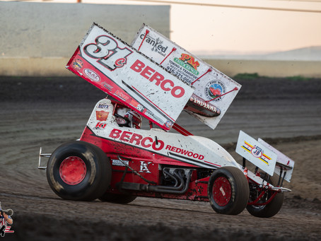 Justyn Cox Third at Ocean Speedway in Family Car