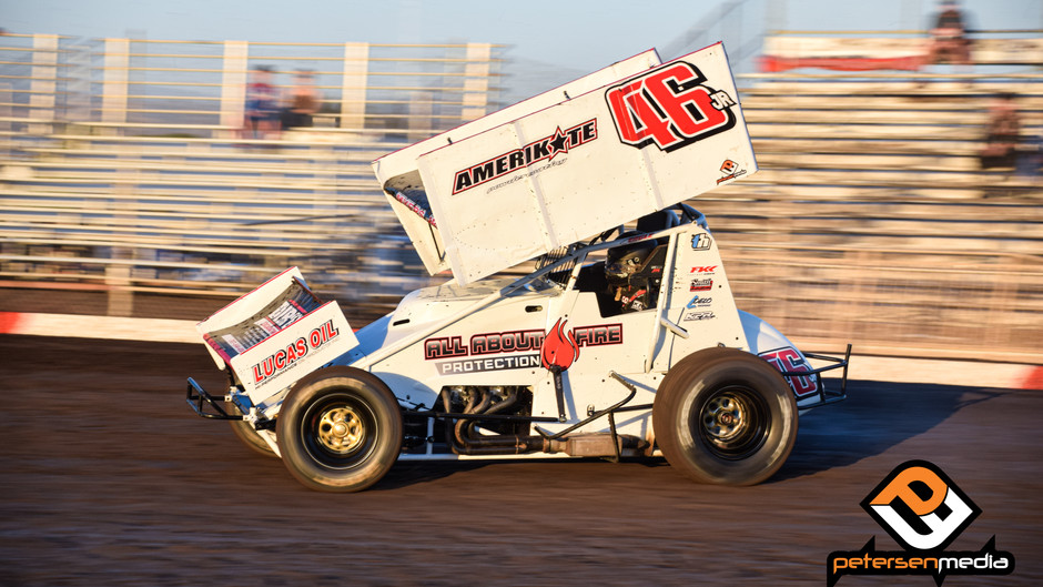B Main Miscue Ends Joel Myers Jr's Pacific Sprint Fall Nationals