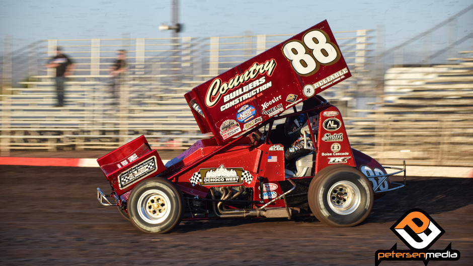 Austin McCarl and Country Builders Racing Net Chico, CA Top-10