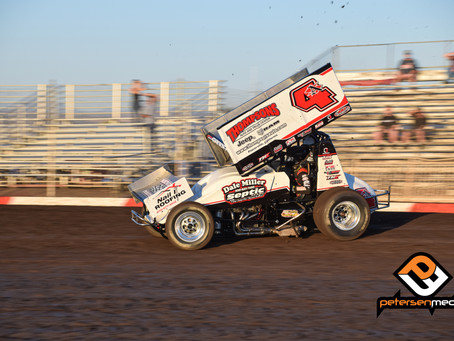 Justin Sanders and Dale Miller Motorsports 2nd at Pacific Sprint Fall Nationals