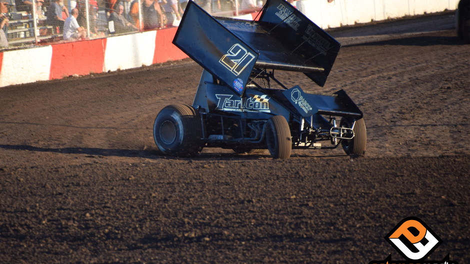 Parker Price-Miller Completes World of Outlaws California Swing with Tarlton Motorsports