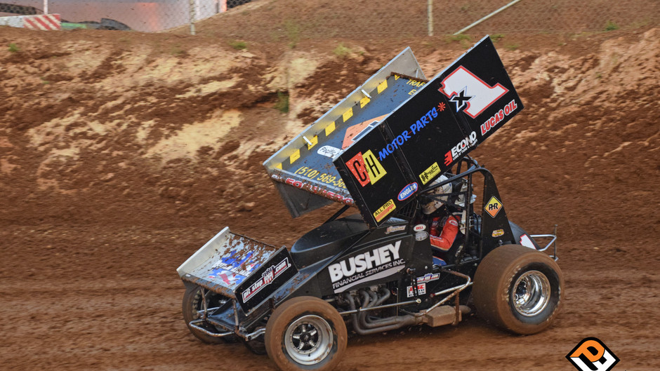 Andy Forsberg and F&F Racing Sixth at Cotton Classic