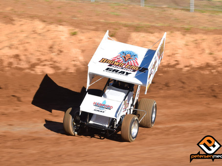 Andy Gregg's Hard Charge Gets Derailed at Placerville Speedway