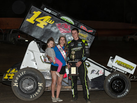 Ryan Robinson Goes Back to Back at Marysville Raceway As He Claims 'Tribute to Gold Cup'