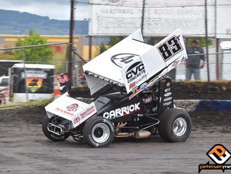 Tanner Carrick 11th with SCCT at Petaluma Speedway