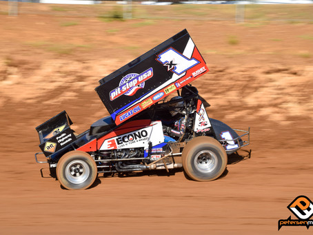 Andy Forsberg Second at Placerville Speedway
