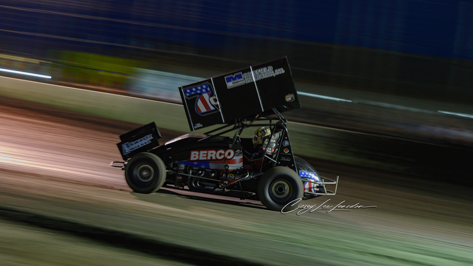 Justyn Cox and C&M Motorsports 4th at Marysville Raceway on Memorial Day